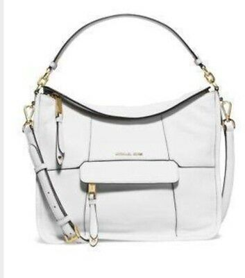 MICHAEL Michael Kors Jesse Medium Convertible Shoulder Bag Optic white d52a38a0f3