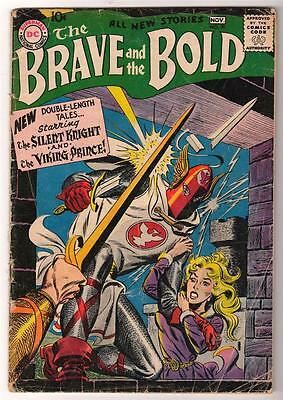 DC Comics VG- BRAVE & THE BOLD  #20 3.5 SILENT KNIGHT 1958