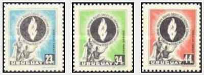 Timbres Uruguay PA165/7 ** lot 22358