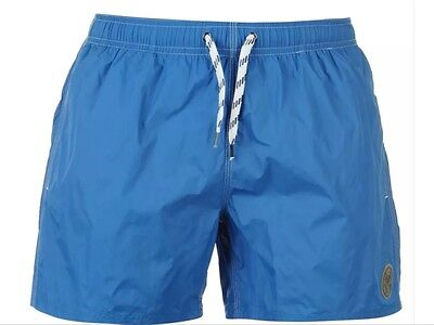 "Replay Basic Mens Blue Swim Shorts Size Medium(32""-34""waist)New With Tags"