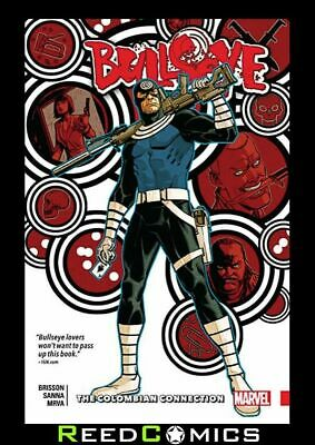 BULLSEYE COLOMBIAN CONNECTION GRAPHIC NOVEL New Paperback Collects (2017) #1-5