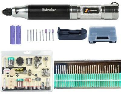 Mini electric Drill Rotary Tools Kit  Rechargeable lithium carving pen polished