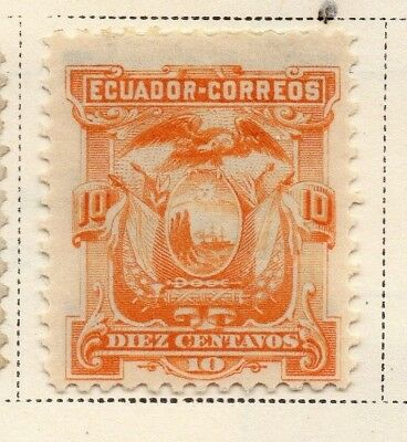 Ecuador 1881 Early Issue Fine Mint Hinged 10c. 170138