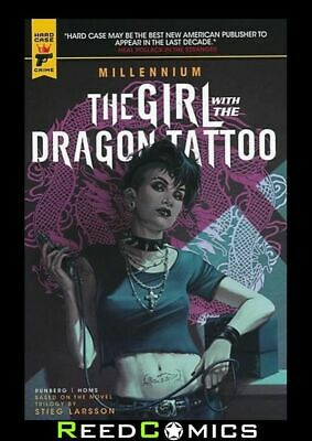 MILLENNIUM GIRL WITH THE DRAGON TATTOO GRAPHIC NOVEL (136 Pages) New Paperback