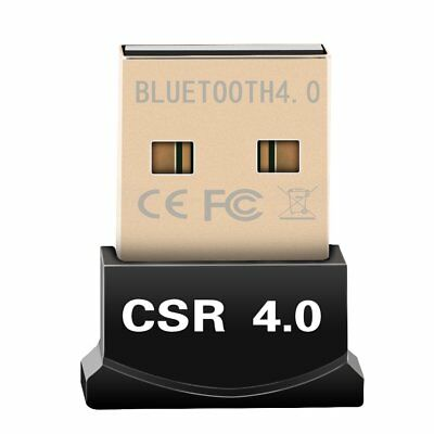 Bluetooth CSR V4.0 Dongle Dual Mode Wireless Adapter 3Mbps for Windows 8 7 XP