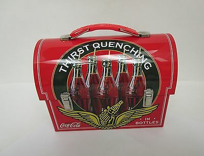 Coca Cola Lunch Box Thirst Quenching Coca Cola Classical Collectable