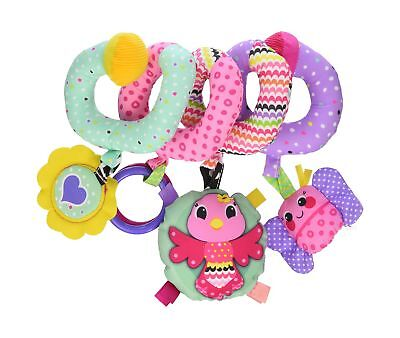 Infantino Spiral Activity Toy Pink Pink Farm NO TAX