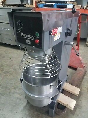 Varimixer W40A Food Mixer - 40 Quart Mixer with Bowl