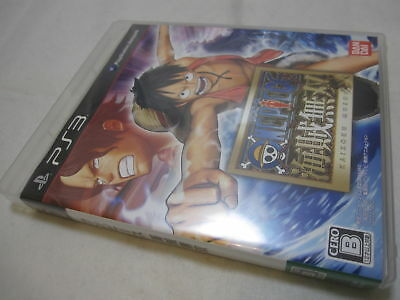 W/Tracking Number. PS3 One Piece Kaizoku Musou Dynasty Warriors Japanese Version