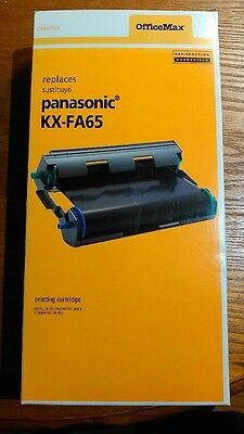 Fax cartridge- Panasonic KX-FA65, still sealed in original packing