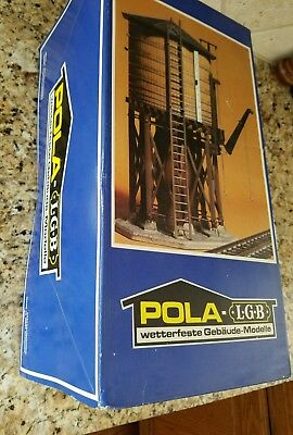 LGB G scale US Operating Water Tower Pola # 923 Exclusive # 1565/2900 NIB