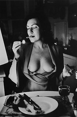 Helmut Newton Sumo Photo Print 50x70cm June Newton Nude Paris 1972 Ben Gazarra