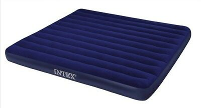 Intex double size air bed/air mattress use in garden or camping, 191x137x22cm
