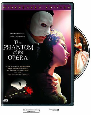 The PHANTOM of the OPERA (DVD, 2004)New, free shipping