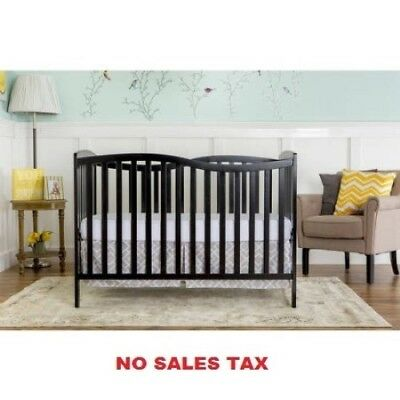 5-in-1 Convertible Crib Nursery Baby Bed Furniture New Full
