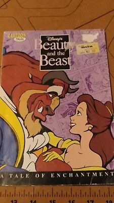 Disney's Beauty And The Beast: A Tale Of Enchantment (Cartoon Tales) yr 1991