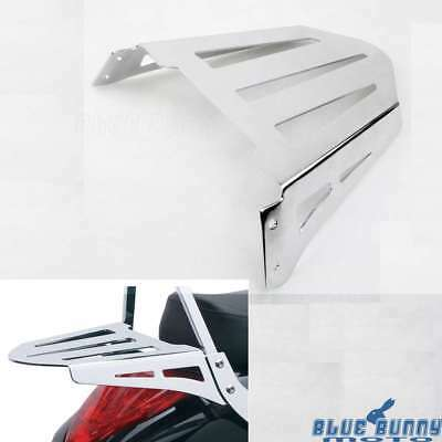 Chrome Motorcycle Luggage Rack Holder For Suzuki Boulevard M109RZ Limited 11-14