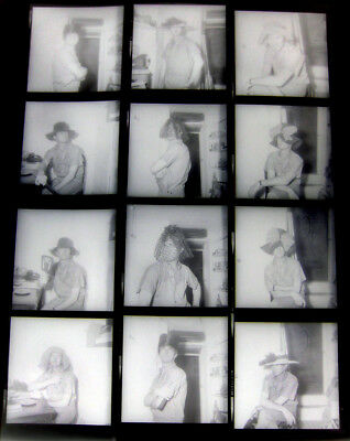 1964 Sexy Gay Hunk CECIL RUTHERFORD 12 Photo Negatives in Drag & Photo