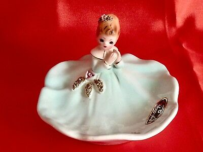 Gorgeous Midcentury Porcelain Collectable Pin Dish By Josef Original