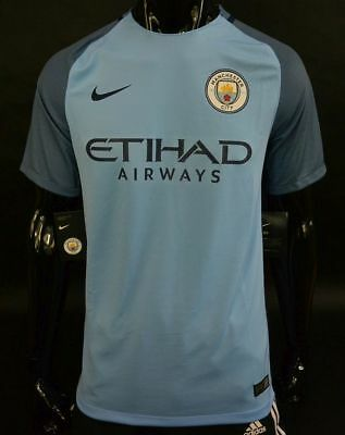 Nike Manchester City Home Football Shirt 2016-2017 SIZE S (adults)