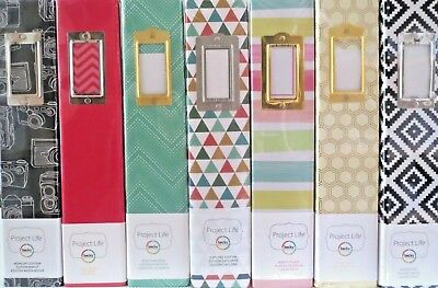 """Project Life Scrapbook Album D Ring 12""""x12"""" - CHOICE Of Editions"""