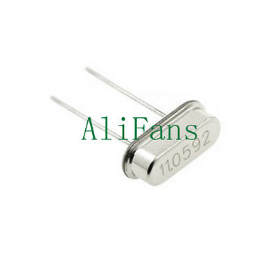 10Pcs 11.0592MHZ 11.0592M HZ HC-49S Crystal Oscillator NEW