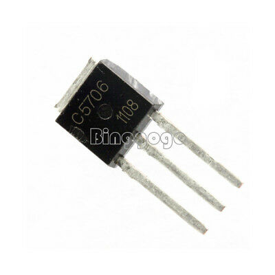 10Stks  C5706 2SC5706 Switch Transistor for LCD Repair TO-251