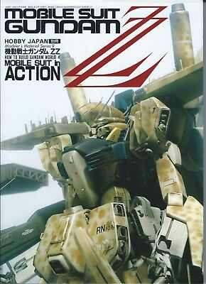 Hobby Japan mobile suit gundam ZZ mobile suit in action