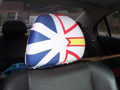 Newfoundland Car/Auto Headrest  Flags--------2 PIECES