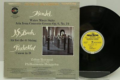 "Handel LP ""Water Music Suite"", Limited Edition, VG+"