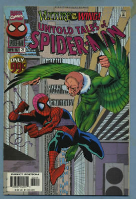 Untold Tales of Spider-Man #20 1997 Vulture APP
