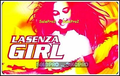 La Senza Young Teen Girl Is Dancing To The Music #0700 Collectible Gift Card