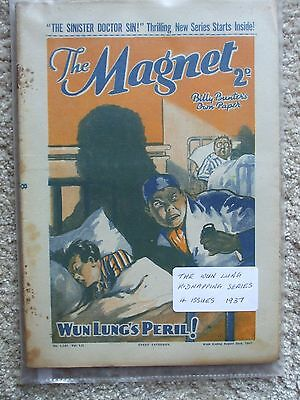 """The Magnet (Billy Bunter) - """"The Wun Lung Kidnapping Series""""  (4 Issues)"""