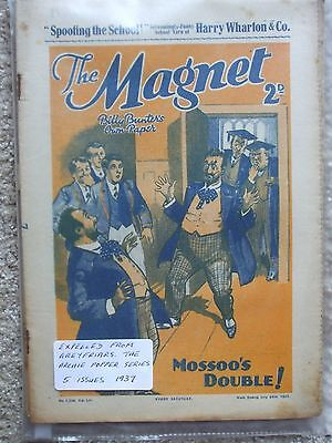 """The Magnet (Billy Bunter) - """"The Archie Popper""""  (5 Issues)"""