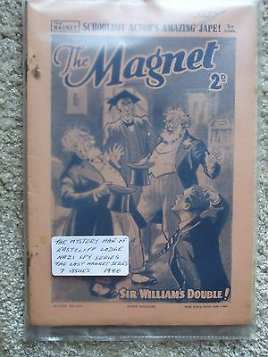 """The Magnet (Billy Bunter) - """"The Mystery Man of Eastcliff Lodge""""   (7 Issues)"""