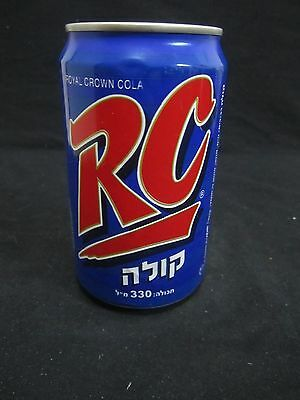 RC cola   :  an  empty 330ml  can , israel  1998.