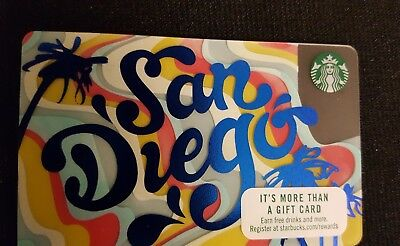 Starbucks 2017 SAN DIEGO and FALL cards