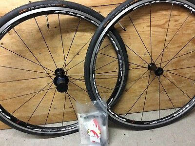 New Fulcrum Wheelset with Continental tyres
