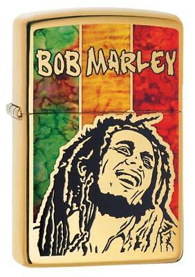 Zippo Windproof Lighter With Bob Marley Fusion Design, 29490, New In Box