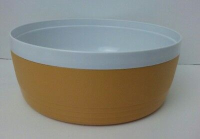 Vintage Sunfrost Therm-O-Ware Insulated Large Bowl Yellow Gold