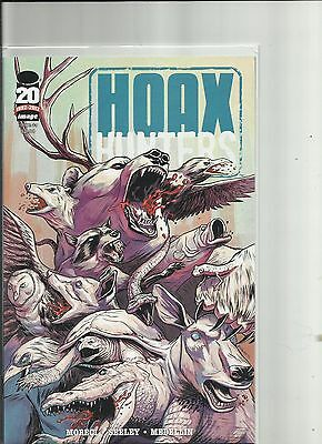 Hoax Hunters #2-#3-#4-#5 and Case Files  Lot of 5  Image Comics