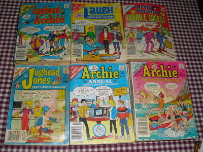 Archie Comics - Vintage 1980s Books/Paperback - Lot of 26 Issues