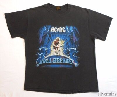 AC/DC Vintage T Shirt 90's Tour Concert 1996 Ballbreaker HARD ROCK METAL Band bk