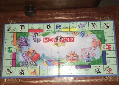 Monopoly Junior Vintage Replacement Board Only  Other Game Parts Listed Melb