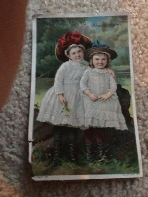 Ca 1890  Trade Cards Lydia Pinkham's Vegetable Compound Grand Children