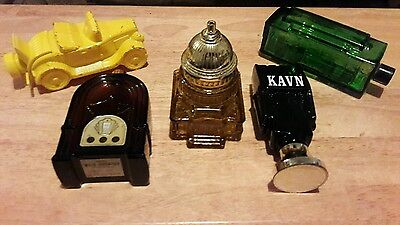 vintage lot of Avon cologne/aftershave bottles