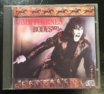 JIMMY BARNES 'Bodyswerve' 1984 CD Album RARE