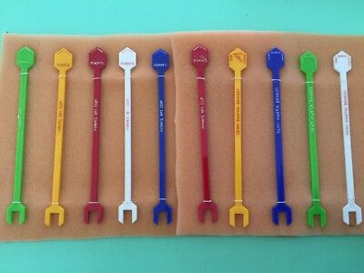 10 ASSORTED PIMM'S AND REMY MARTIN SWIZZLE STICKS Vintage Cocktail Bar
