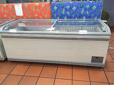 Commercial Display Chest Freezer 1000L