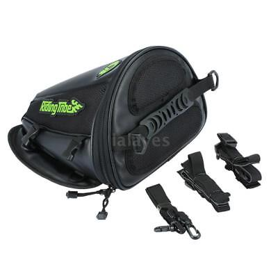 Motorcycle Tank Bag Waterproof Riding Backpack Travel Tool Tail Luggage I0G3